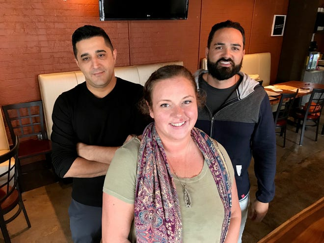 Keepin' it Fresh at The 05 partners, from left, Anmar Natheer, Jennifer Barone and Geno Iozzino.
