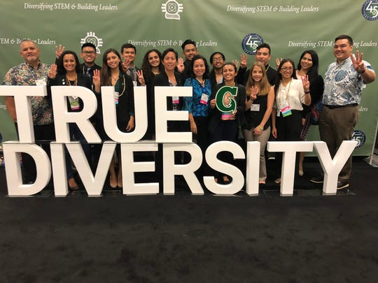 The University of Guam sent a delegation to the Society for Advancement of Chicanos/Hispanics & Native Americans in Science National Conference, held October 9-13 in San Antonio, Texas.