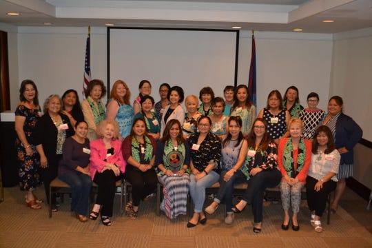 Guam Women's Club was presented with the Federation of Asia-Pacific Women's Associations Small Diamond Loyalty award for being one of six charter clubs in the Asia-Pacific Region.   The FAWA 60th Anniversary Convention was held in Manila, Philippines from September 26– 30. Guam Women's Club President Caroline H. Sablan accepted the award on behalf of the club.