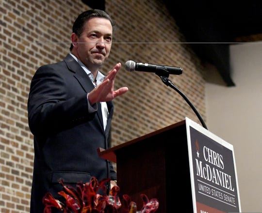 Chris McDaniel concedes in U.S. Senate race at campaign party in Laurel on November 6, 2018.