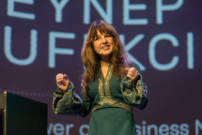 Techno-sociologist Zeynep Tufekci will speak at this year's Spirit & Place Festival.