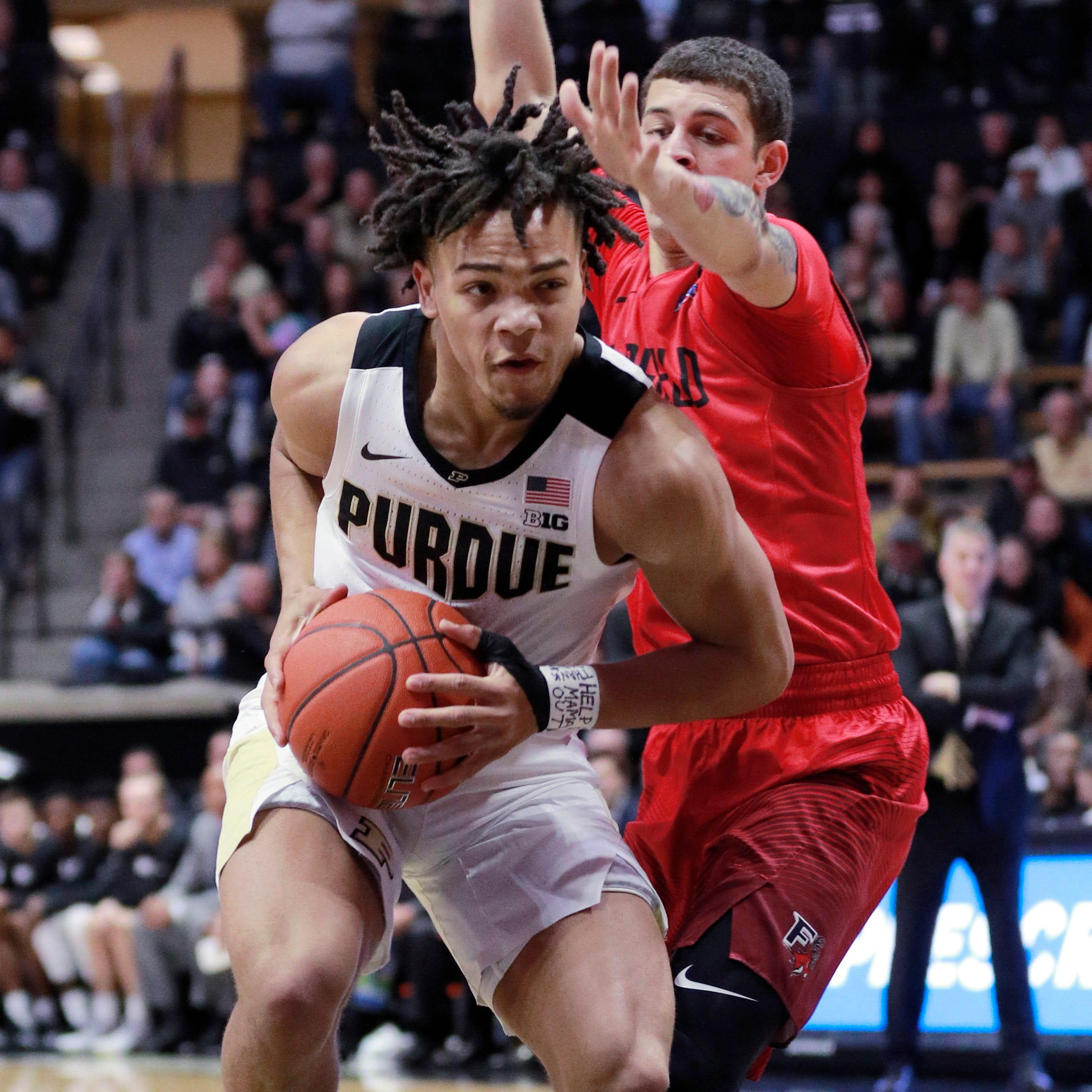 Purdue hoops opens season with win