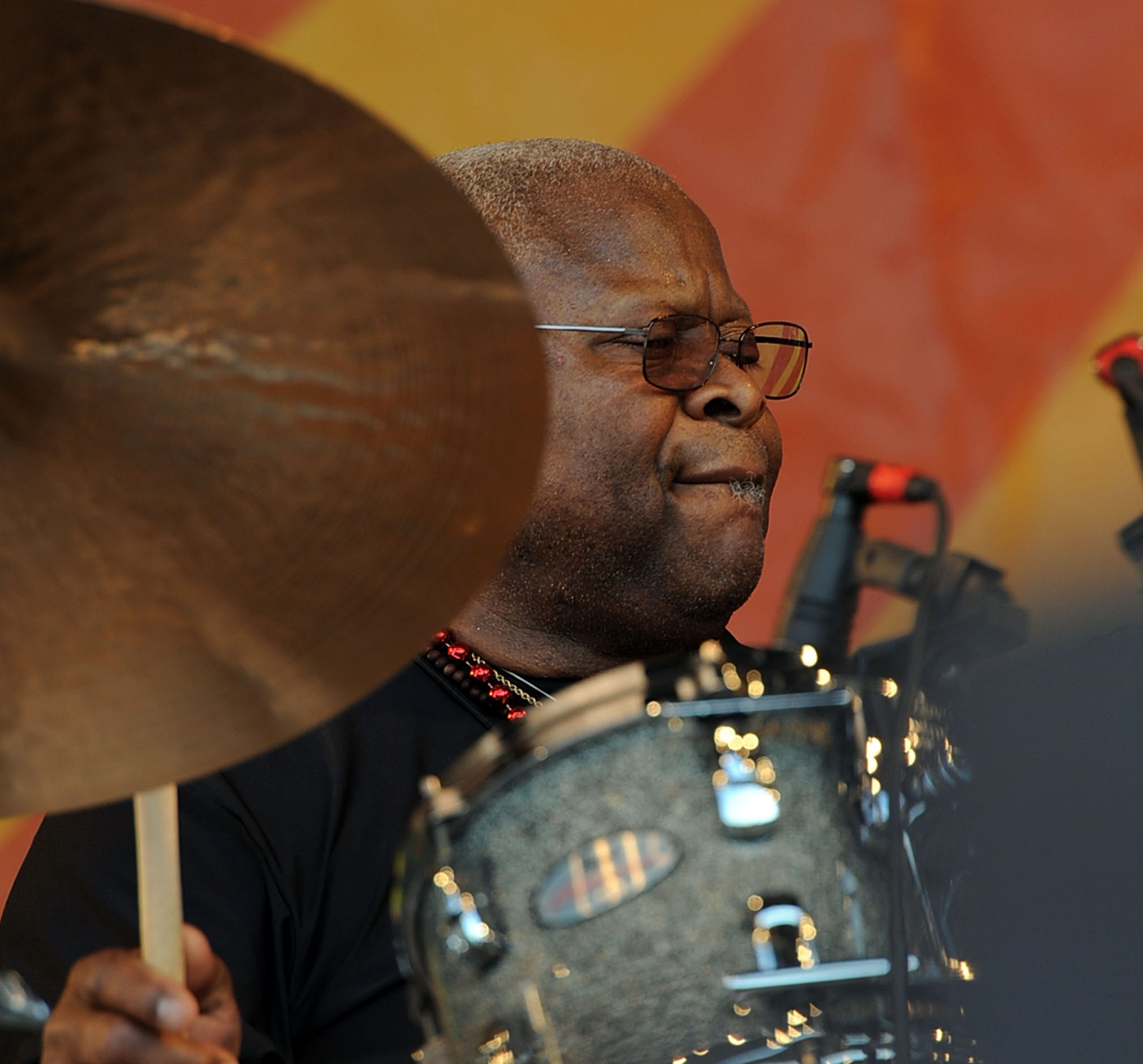 Recording artist Jaimoe Johanson (Allman Brothers Band)  performs at the 2010 New Orleans Jazz & Heritage Festival Presented By Shell at the Fair Grounds Race Course on April 25, 2010 in New Orleans, Louisiana.