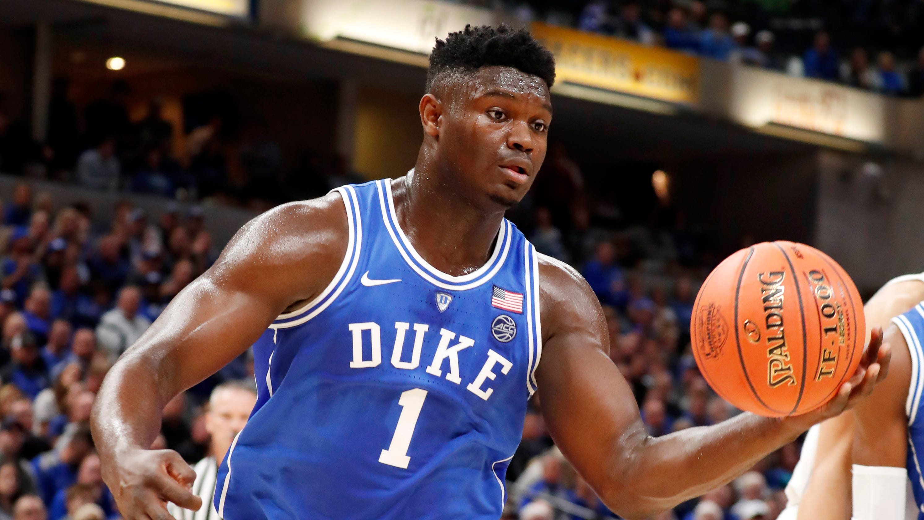 73f43365ab1 Duke s Zion Williamson produces highlight reel in blowout of Kentucky