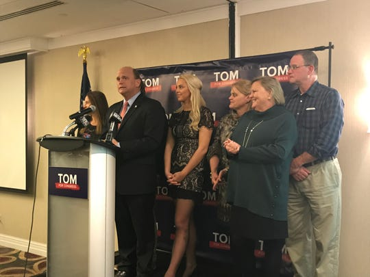 Congressman Tom Reed announces that Tracy Mitrano has conceded that race in NY23