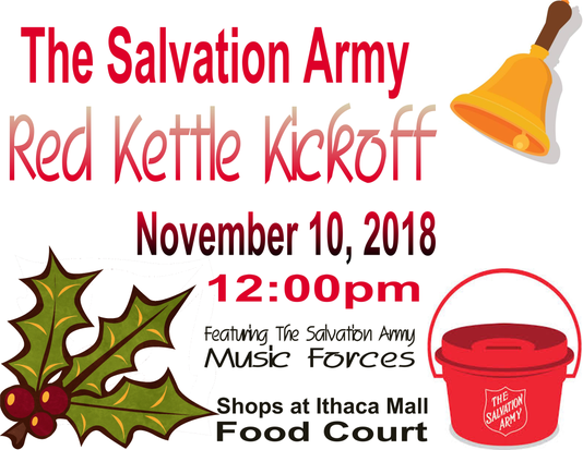 Red Kettle Campaign Kickoff
