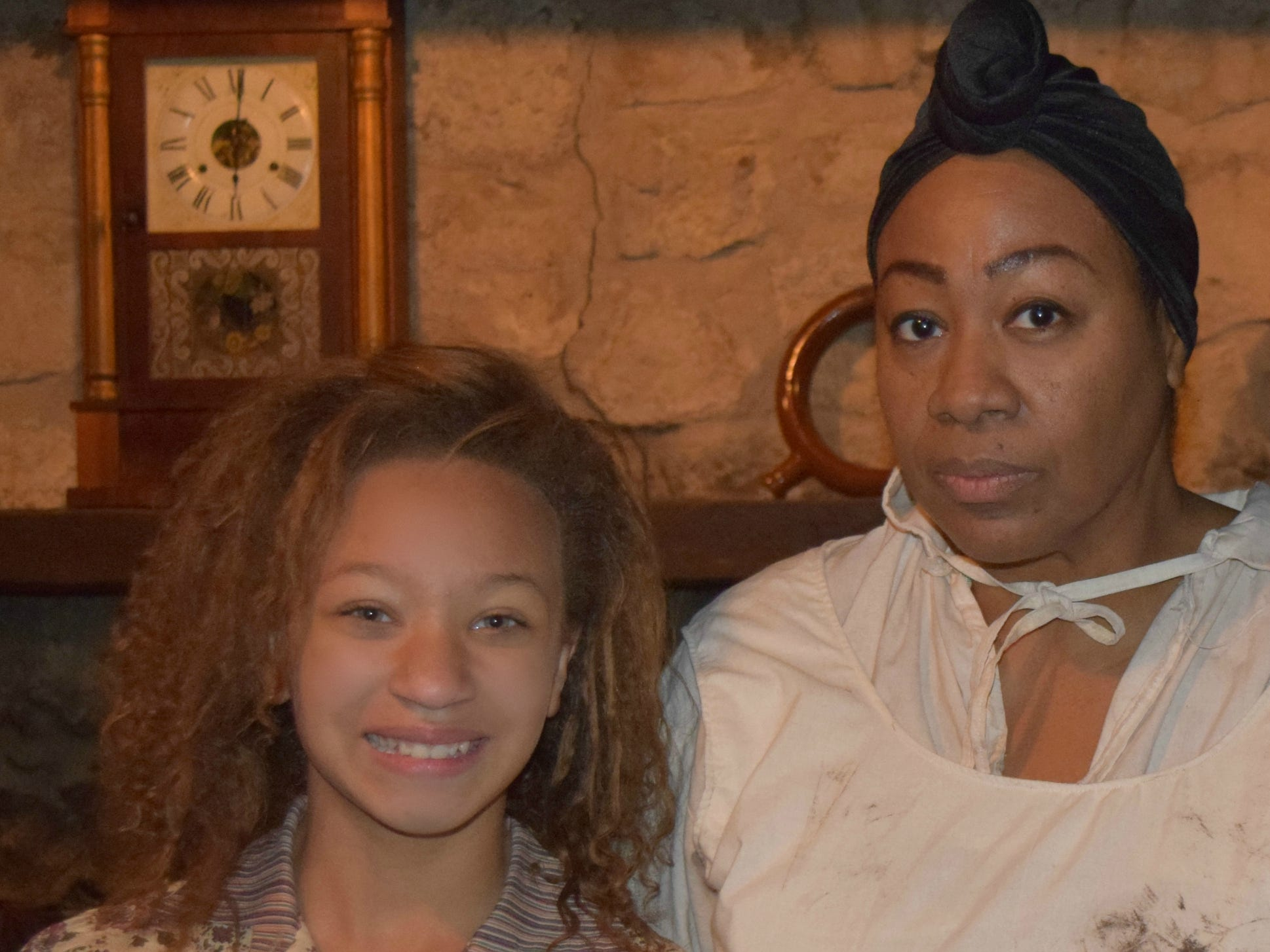 "Celeste Wilson And Shelia Wofford star in the Knoxville-filmed Civil War movie, ""Into the Wilderness."""