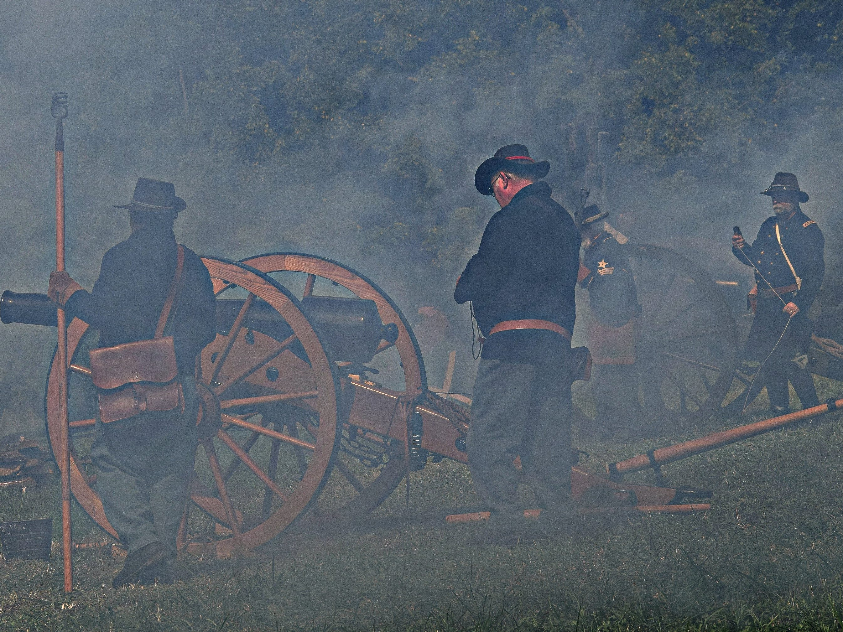 "The upcoming Civil War film ""Into the Wilderness"" was shot in several parts of East Tennessee throughout October."