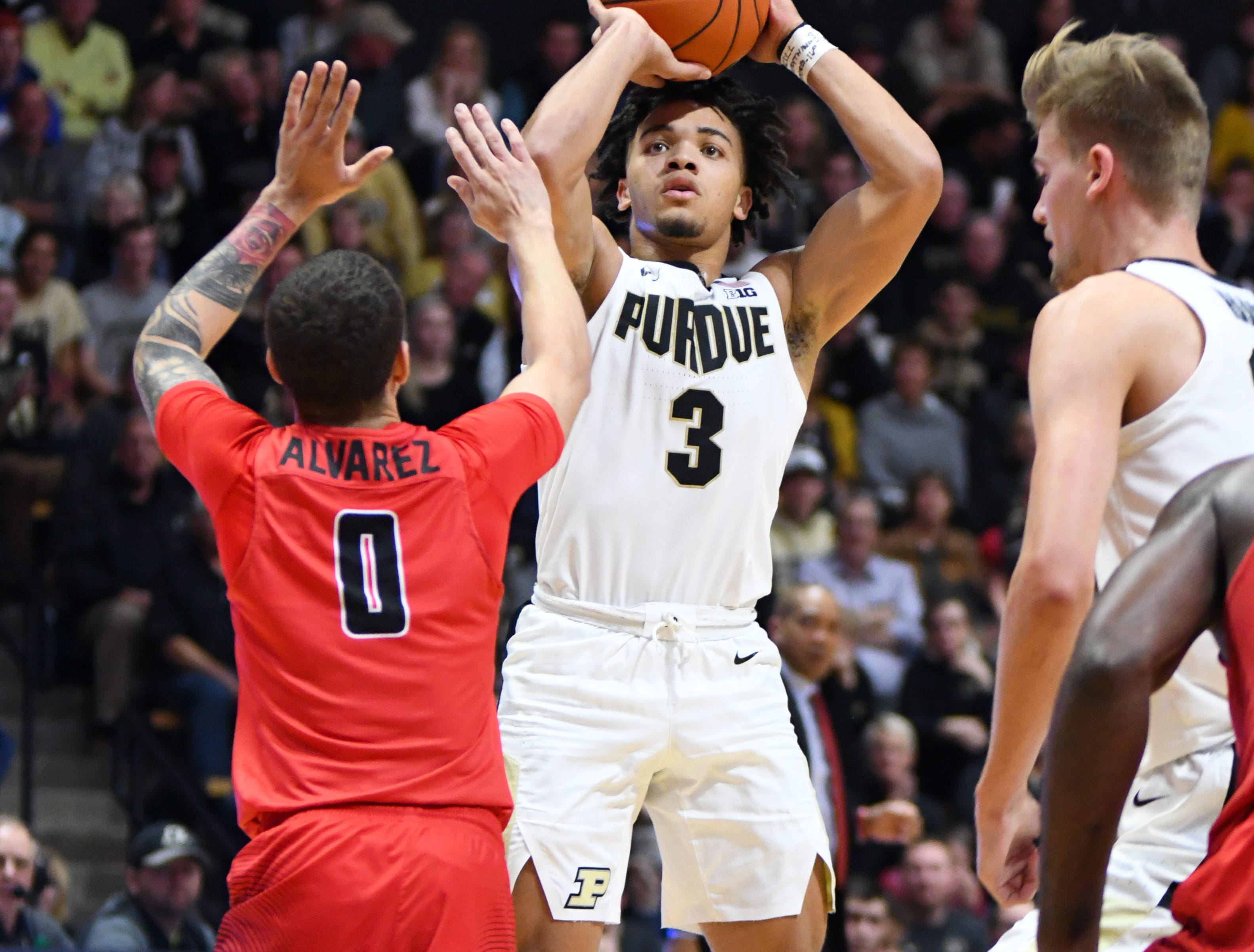 Action from Purdue's 90-57 win over Fairfield in West Lafayette on Tuesday November 11, 2018.