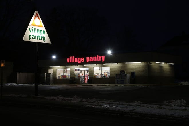 A Village Pantry clerk accidentally shot himself in the hand, police said.