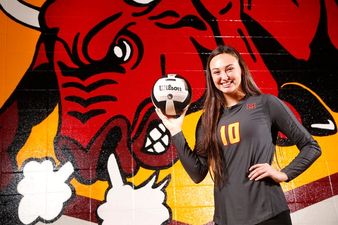 Brooke Humphrey is the 2018 Journal & Courier Big School Player of the Year for Volleyball.