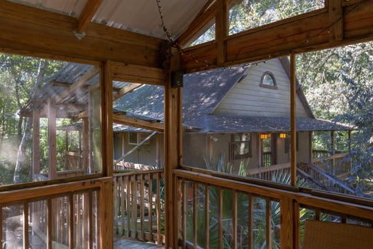 This treehouse in Broussard is for sale at $140,000.
