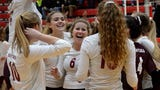 Highlights and interviews from Charyl Stockwell's regional volleyball semifinal victory over Adrian Madison.