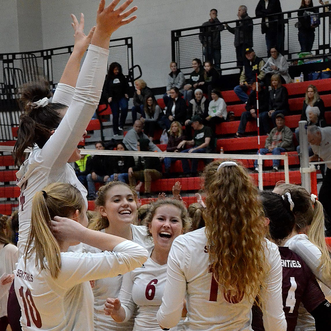 Charyl Stockwell ends Livingston County's regional volleyball drought, earns shot at No. 1 team