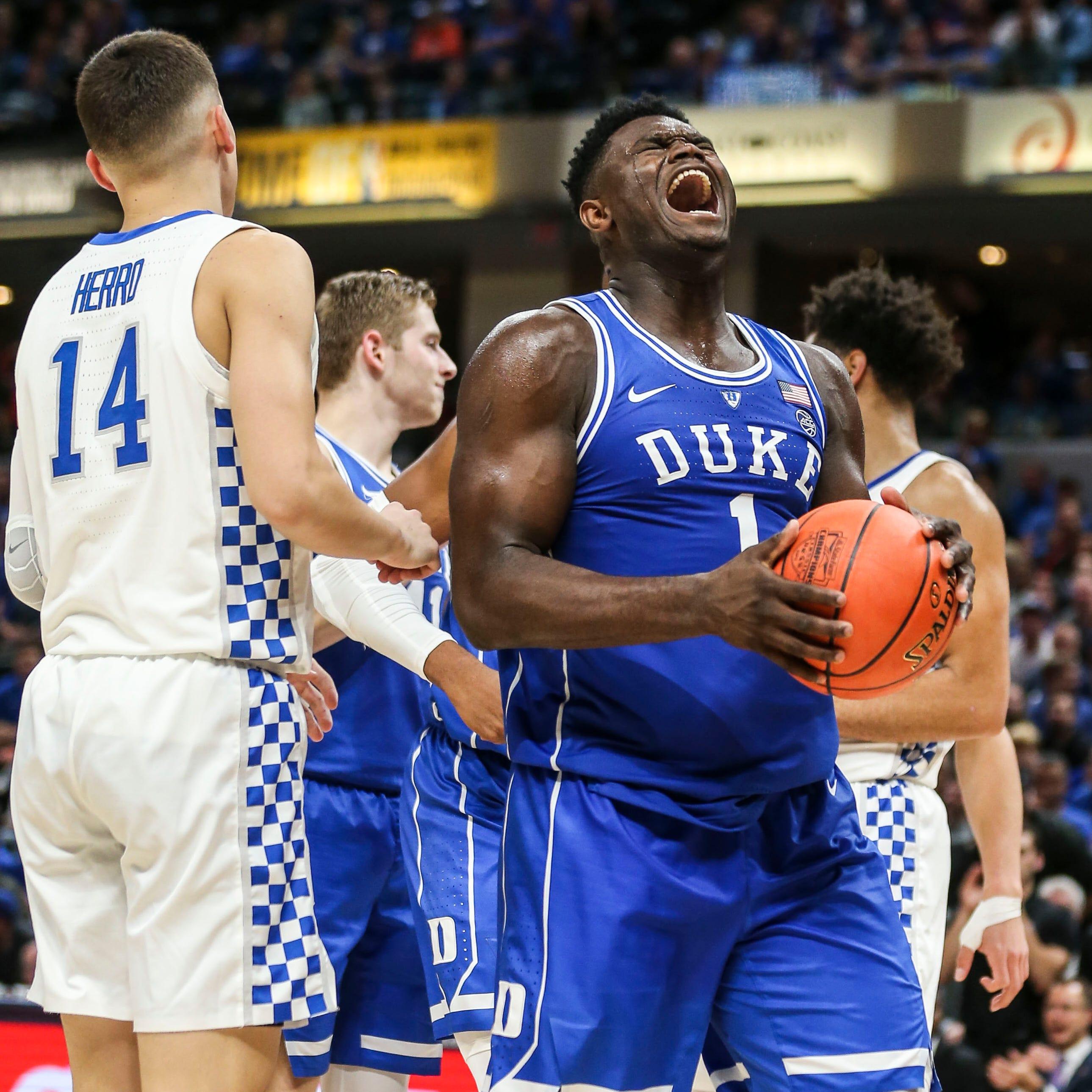 Blue wave? Duke's freshmen were more like a blue tsunami vs. Kentucky