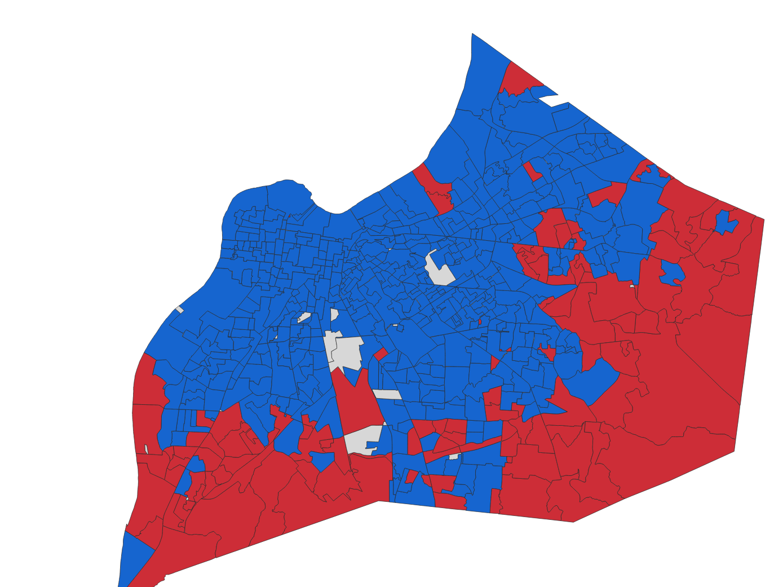 Louisville Mayor Greg Fischer is popular in the 'burbs, for a Democrat