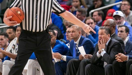 Kentucky Vs Duke Basketball 2018