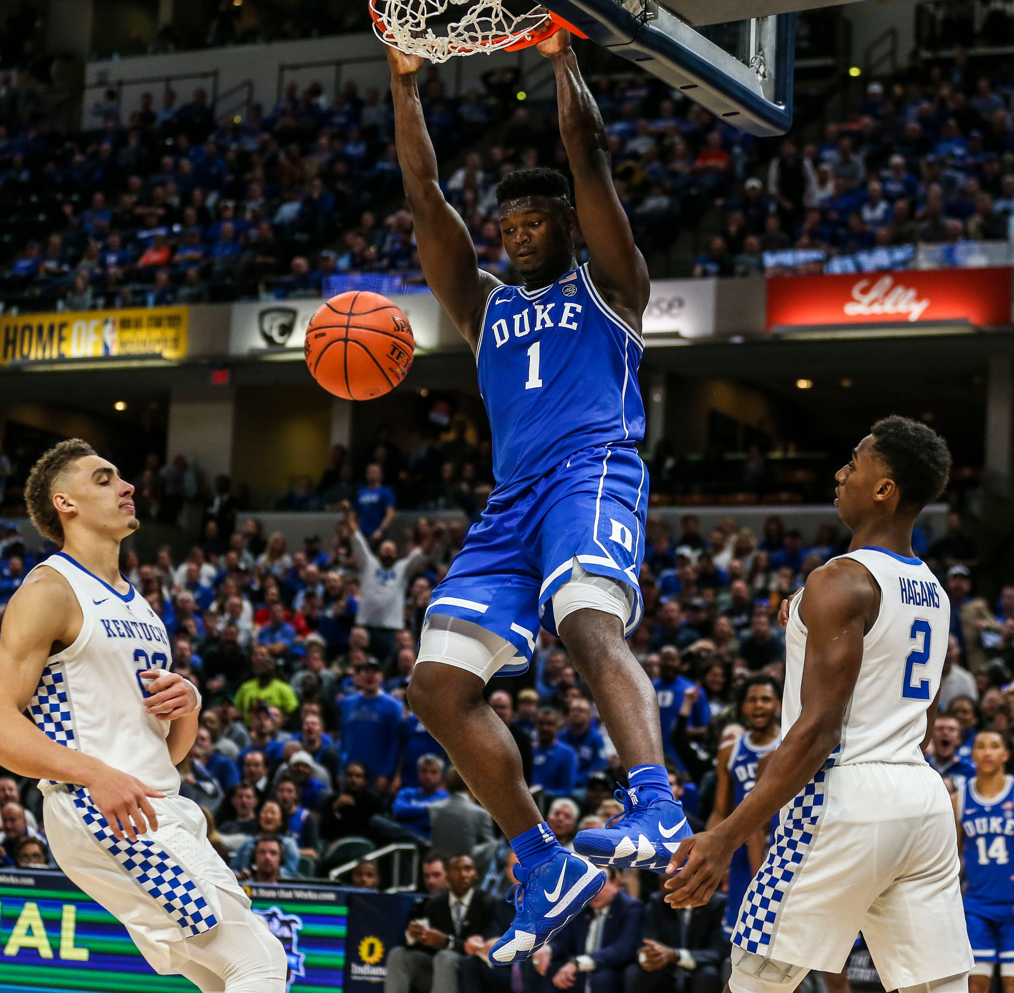 Duke's talent exposes Kentucky's veterans in Champions Classic blowout