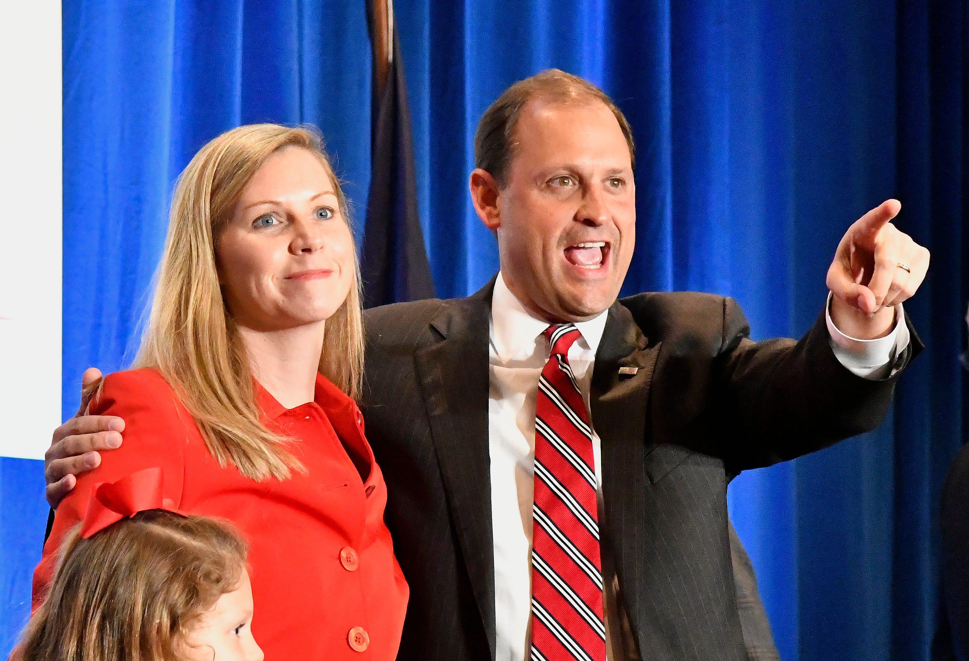 CarolLeavellBarr, wife of Kentucky Congressman Andy Barr, dies in Lexington home