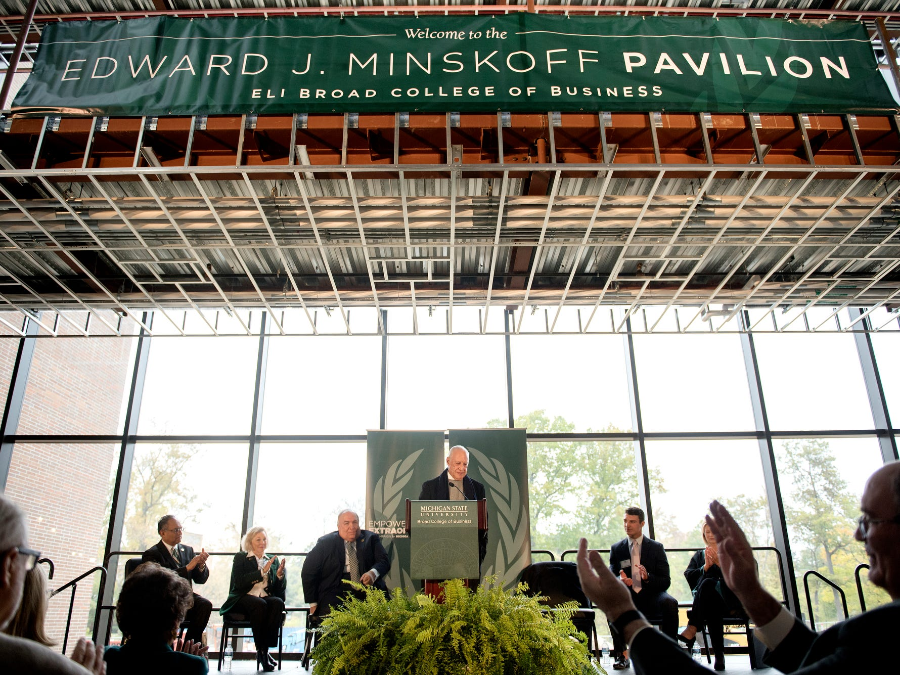 With enrollment up and a $62 million pavilion, MSU business college is raising its profile