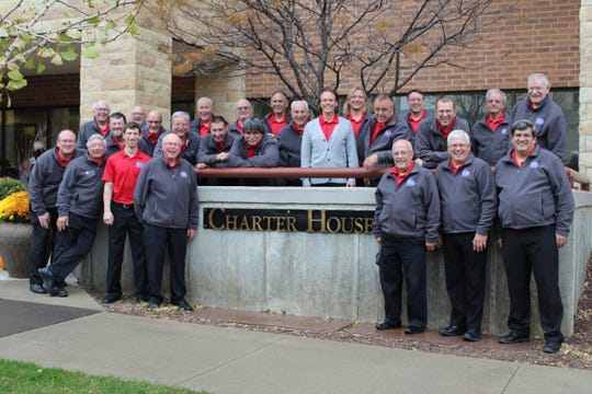 Manitowoc Clipper City Chordsmen at Charter House Retirement Center across the street from Mayo Clinic.