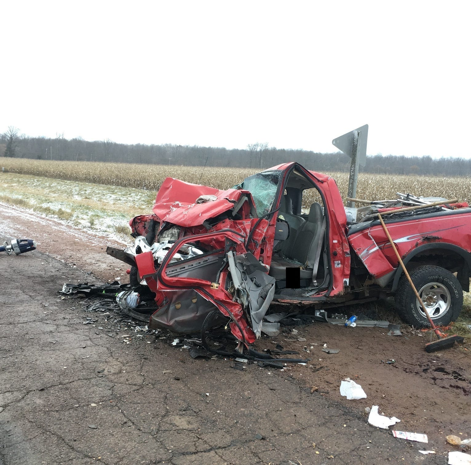 5 injured in two-vehicle crash on State 13 between Colby and Unity