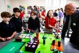 Grace-St. Lukes Students Create Playground Prototypes