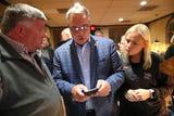Mayor Mike Palazzolo on election night watch