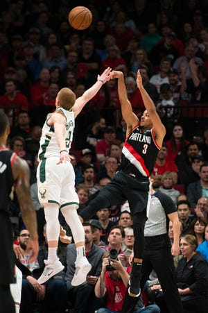 The Bucks have had troubles guarding quick guards this season like the Trail Blazers' CJ McCollum, who went off for 40 points against Milwaukee on Tuesday night.