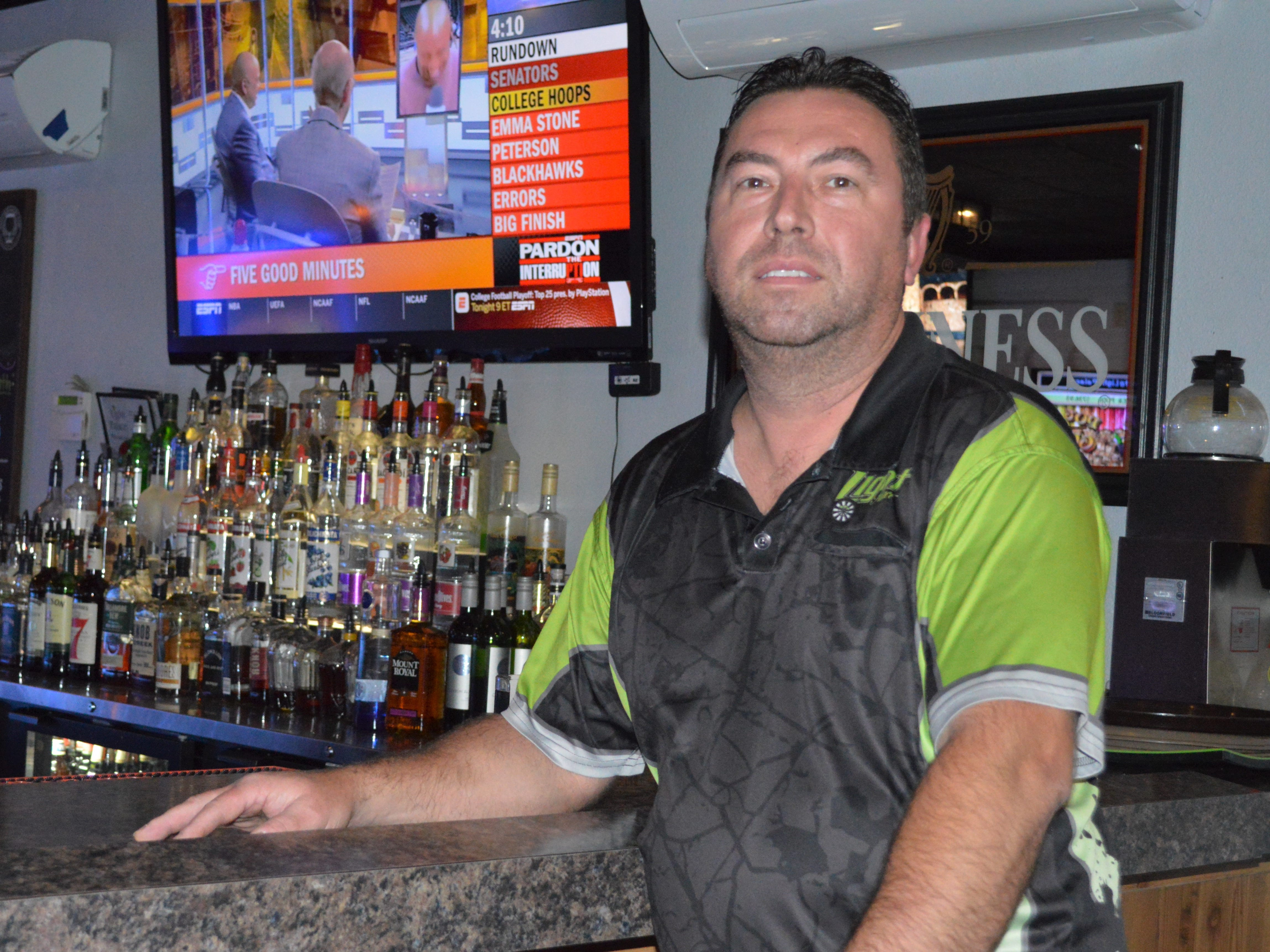 John Schultz, the owner of Light Palace Pub and Grill, is a Cudahy native.