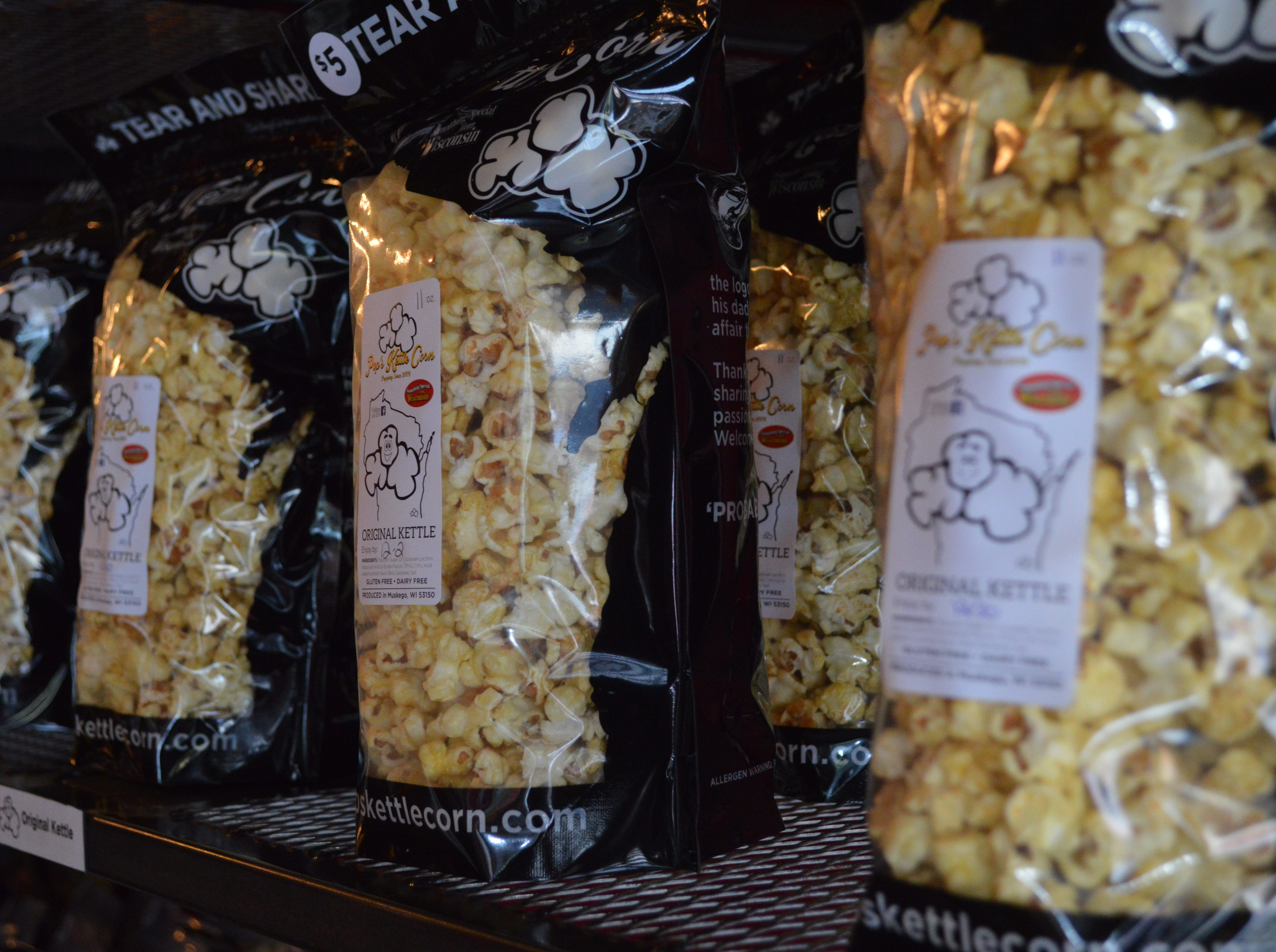 Pop's Kettle Corn was founded in 2009 by Mark Knudsen's parents, Richard and Terri.