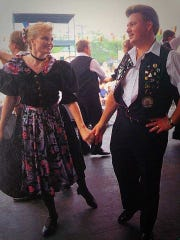 Mark Mayer met his wife, Jennifer, in the United Donauschwaben of Milwaukee dance group.
