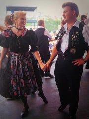 Mark Mayer met his wife, Jennifer, in the United Donauschwaben of Milwaukee dance group.