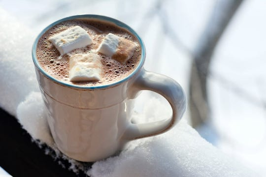 Hot Cocoa. Marshmallows