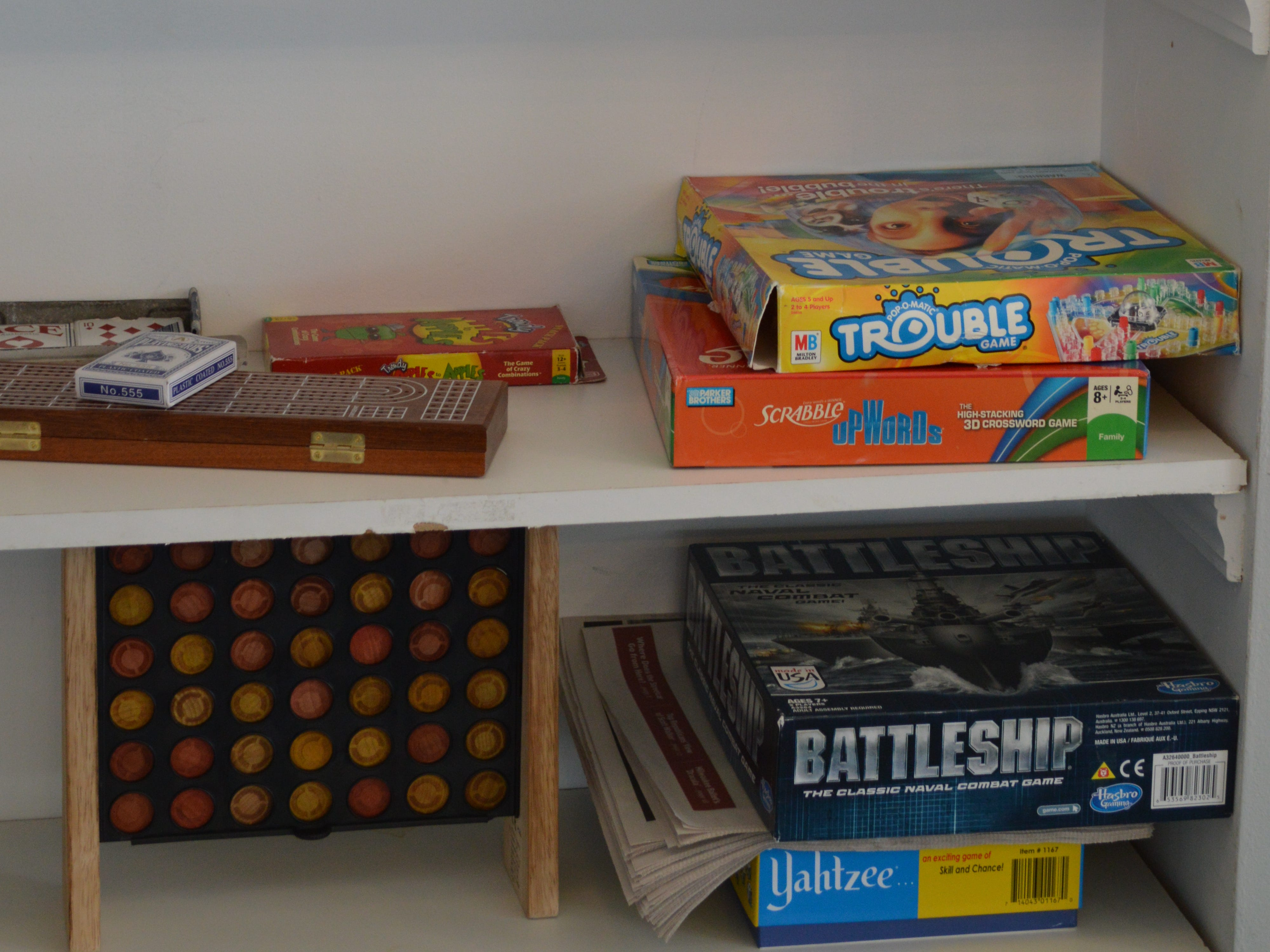 Customers can play board games at 5Points Brew and Sweets.