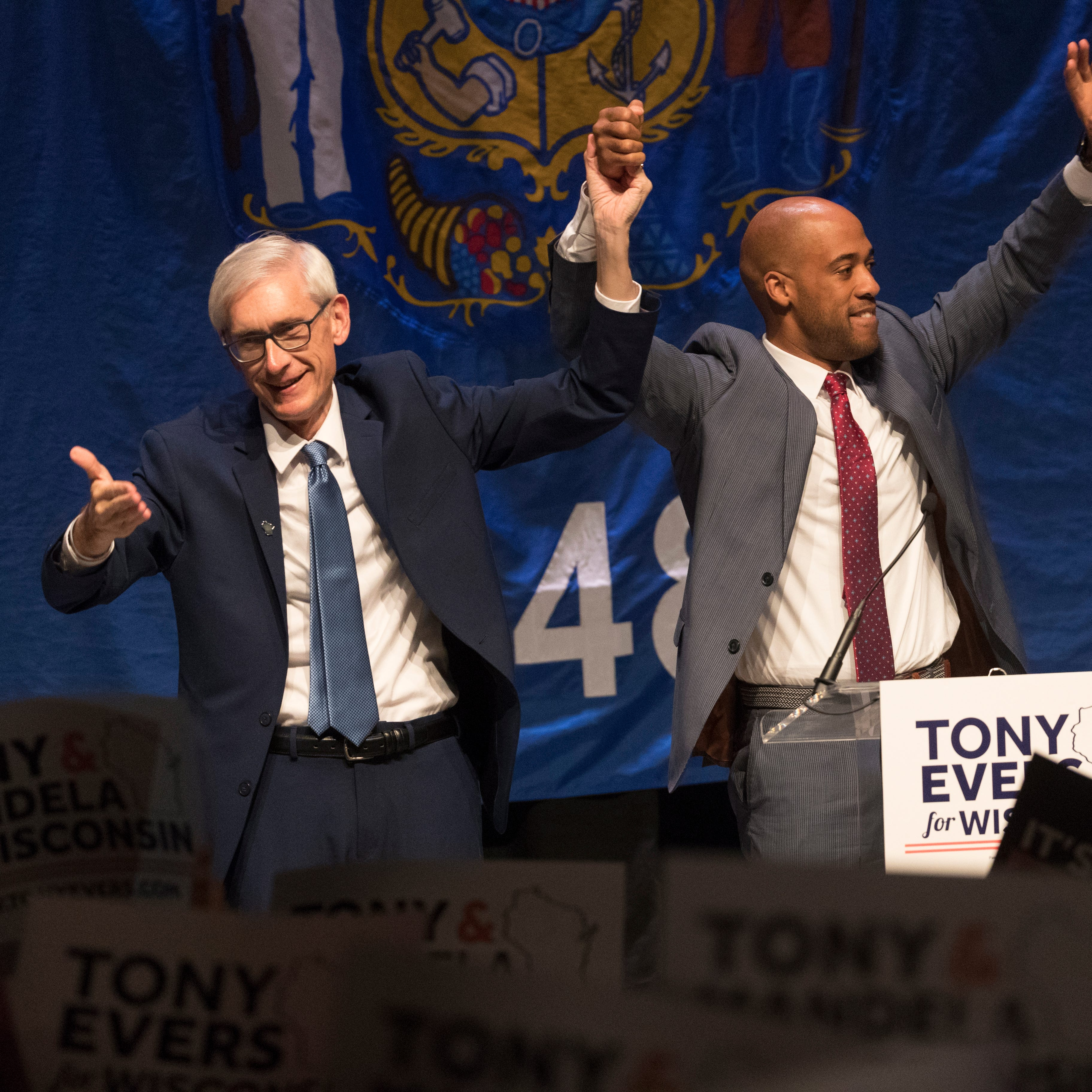 Timing, Trump and turning down the volume: How low-key Tony Evers defeated Scott Walker
