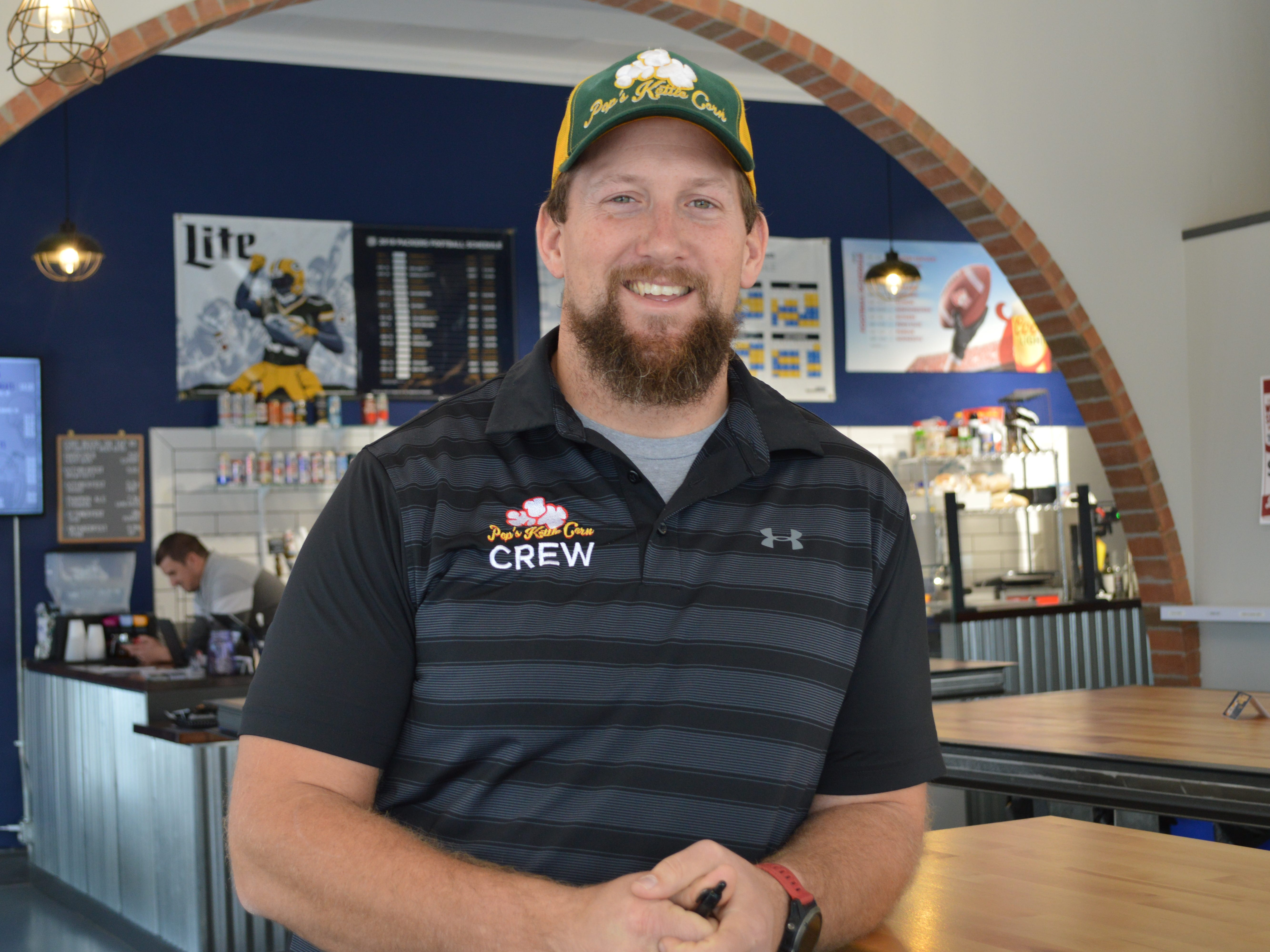Mark Knudsen, co-owner of 5Points Brew and Sweets, said his business likes to support the local community.