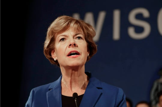 U.S. Sen. Tammy Baldwin of Wisconsin.