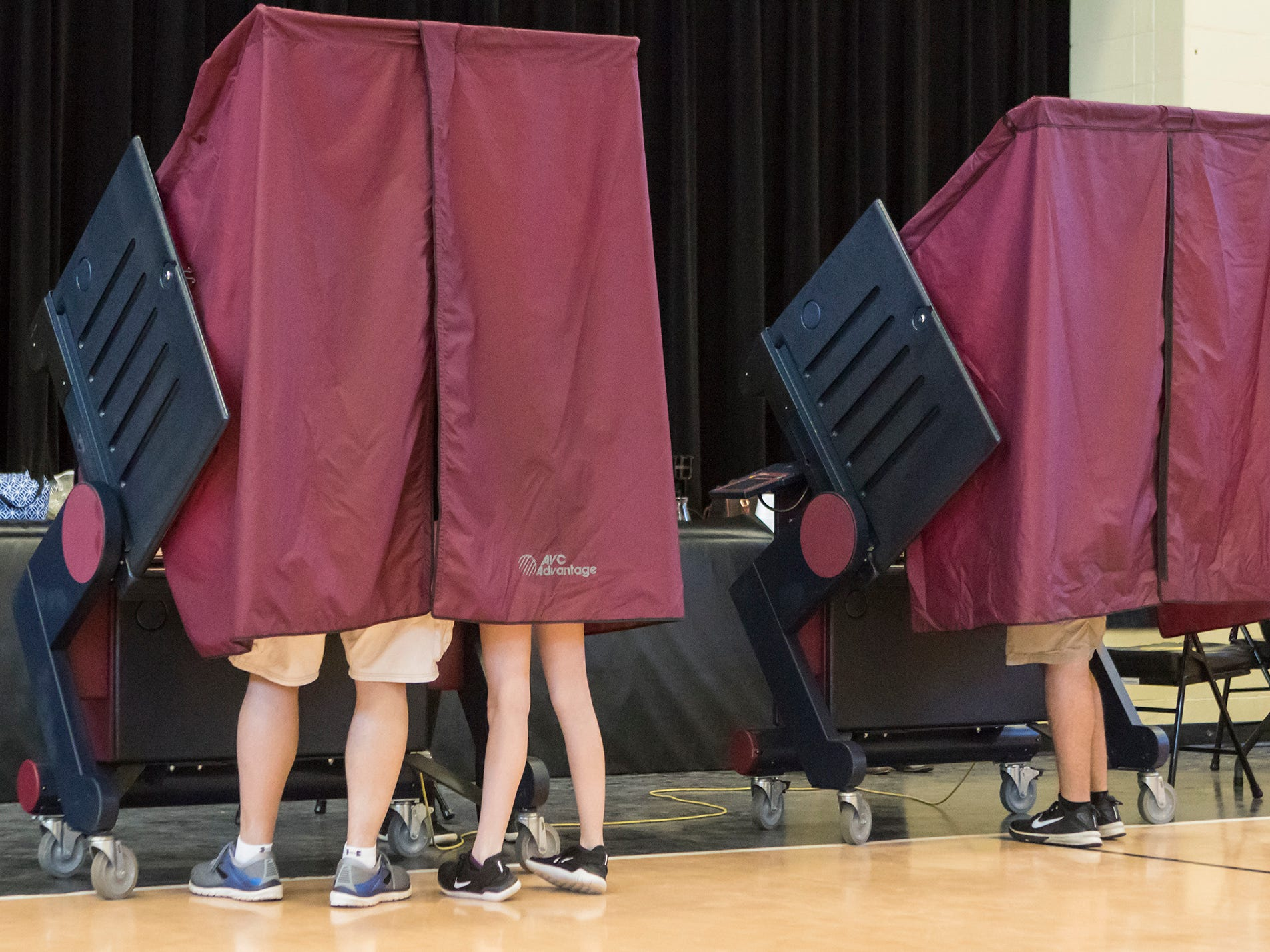 People from Monroe, La. exercised their right to vote in the 2018 Midterm Electionon Nov. 6.