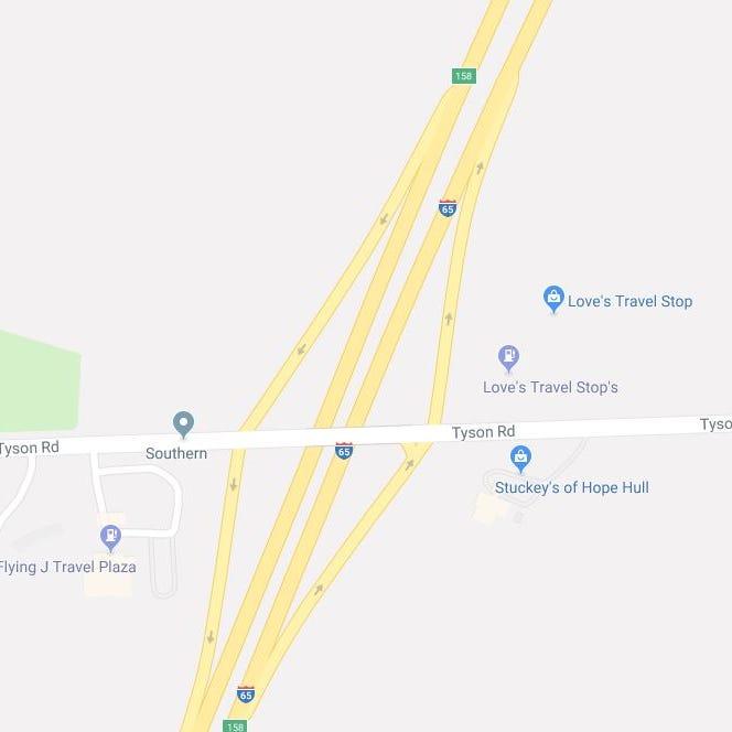 """Un homme de Hayneville tué dans l'épave d'un seul véhicule sur l'I-65 """"class ="""" more-section-stories-thumb"""