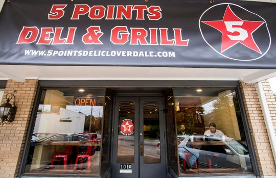 5 Points Deli & Grill has op-ened at on East Fairview in Montgomery, Ala., on Wednesday November 7, 2018.