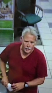 Montgomery police are searching for Myron William Ernst in connection to a bank robbery on Atlanta Highway.