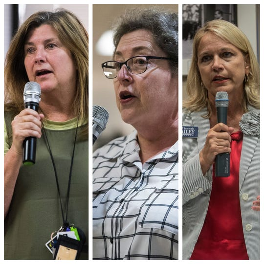 Lesa Keith, Clare Weil and Jannah Morgan Bailey won their Board of Education races, taking seats in District 1, 2 and 5 respectively.