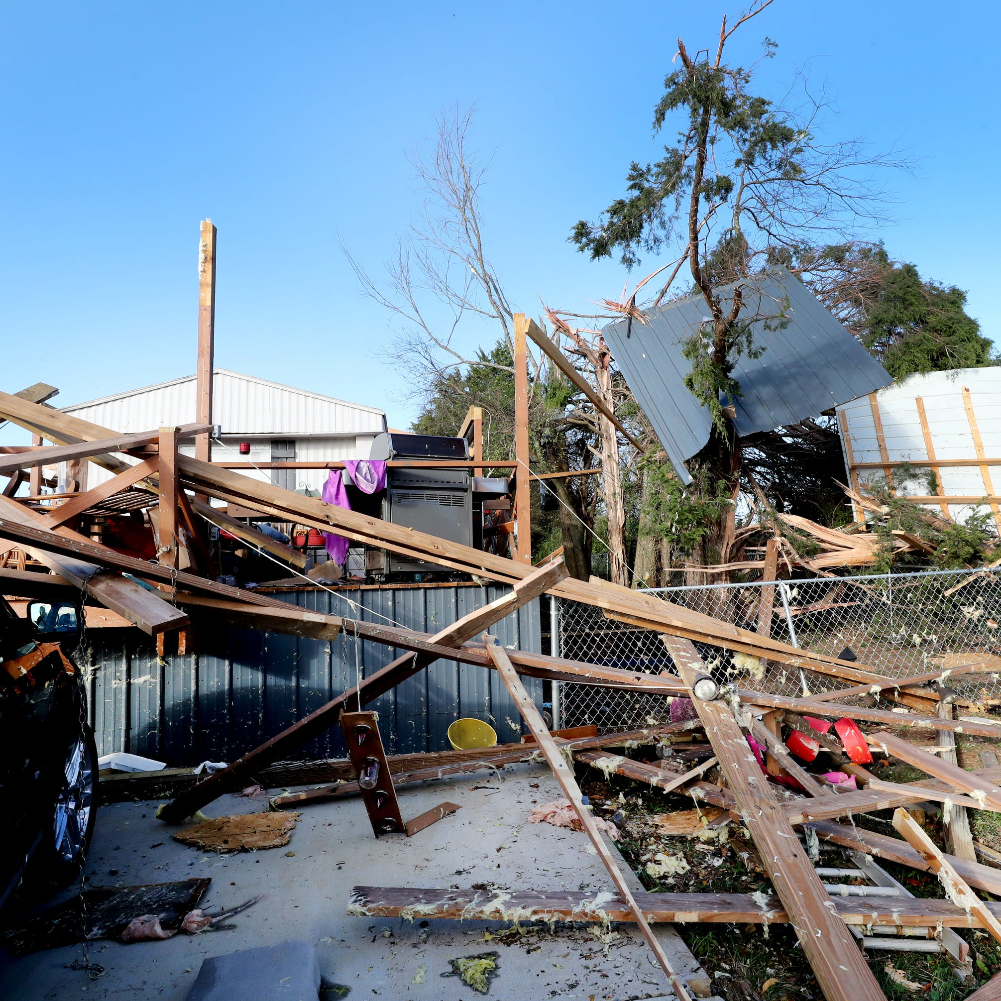 Deadly Christiana, Tenn. tornado traveled 9 miles in Rutherford, Bedford counties, NWS says