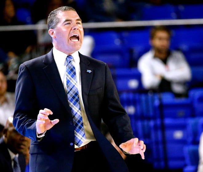 MTSU coach Nick McDevitt
