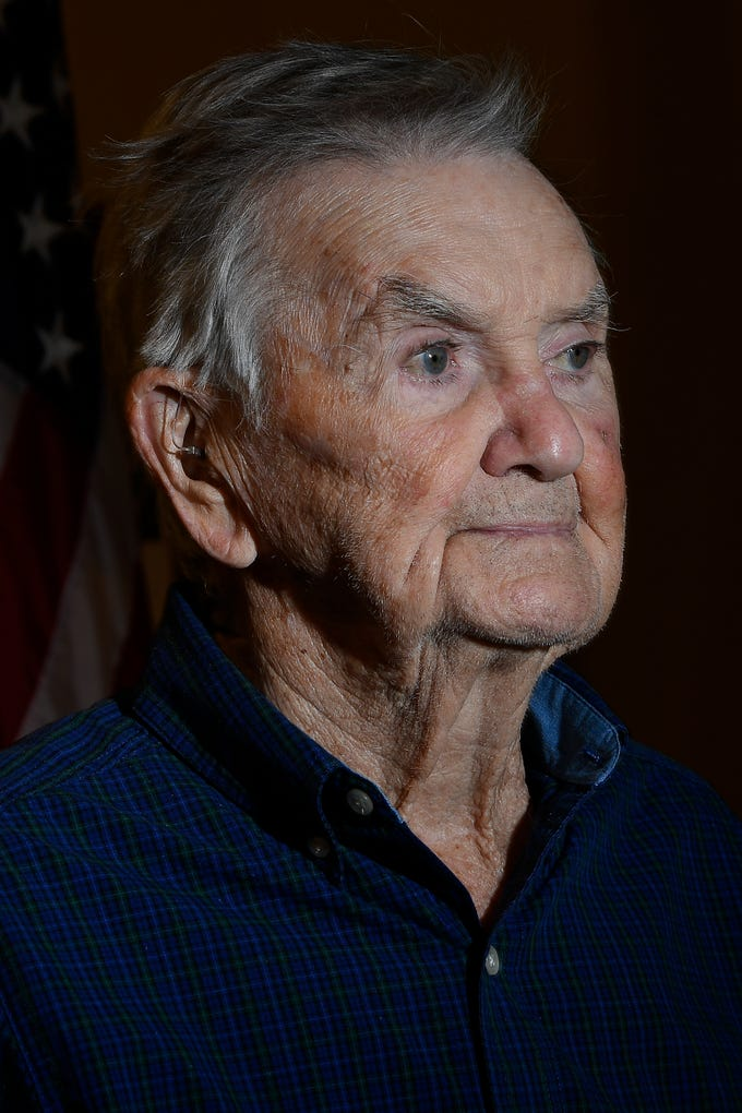Thomas Harris, 97, Spring Hill Years: 1942-1945 Rank: Sergeant in the U.S. Army Combat: France, Italy and Great Britain