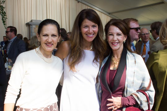 Laura Landstreet, Melanie Yappen and Lake Eakin attend the 29th annual Sunday in the Park.
