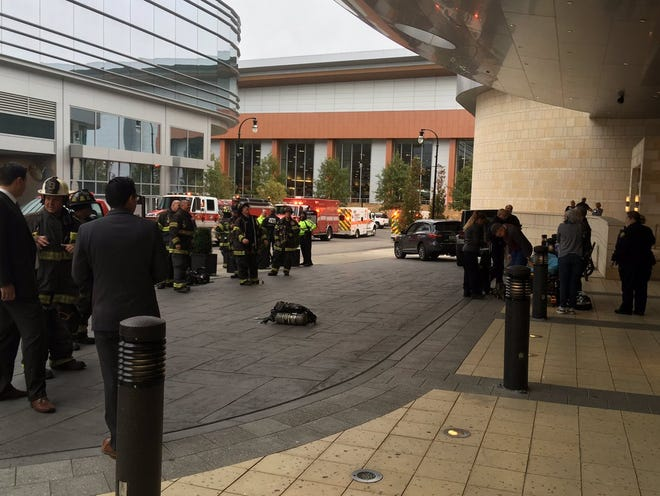 The Nashville Fire Department said 14 people were sickened by a carbon monoxide leak at the Weston hotel in downtown Nashville Wednesday.