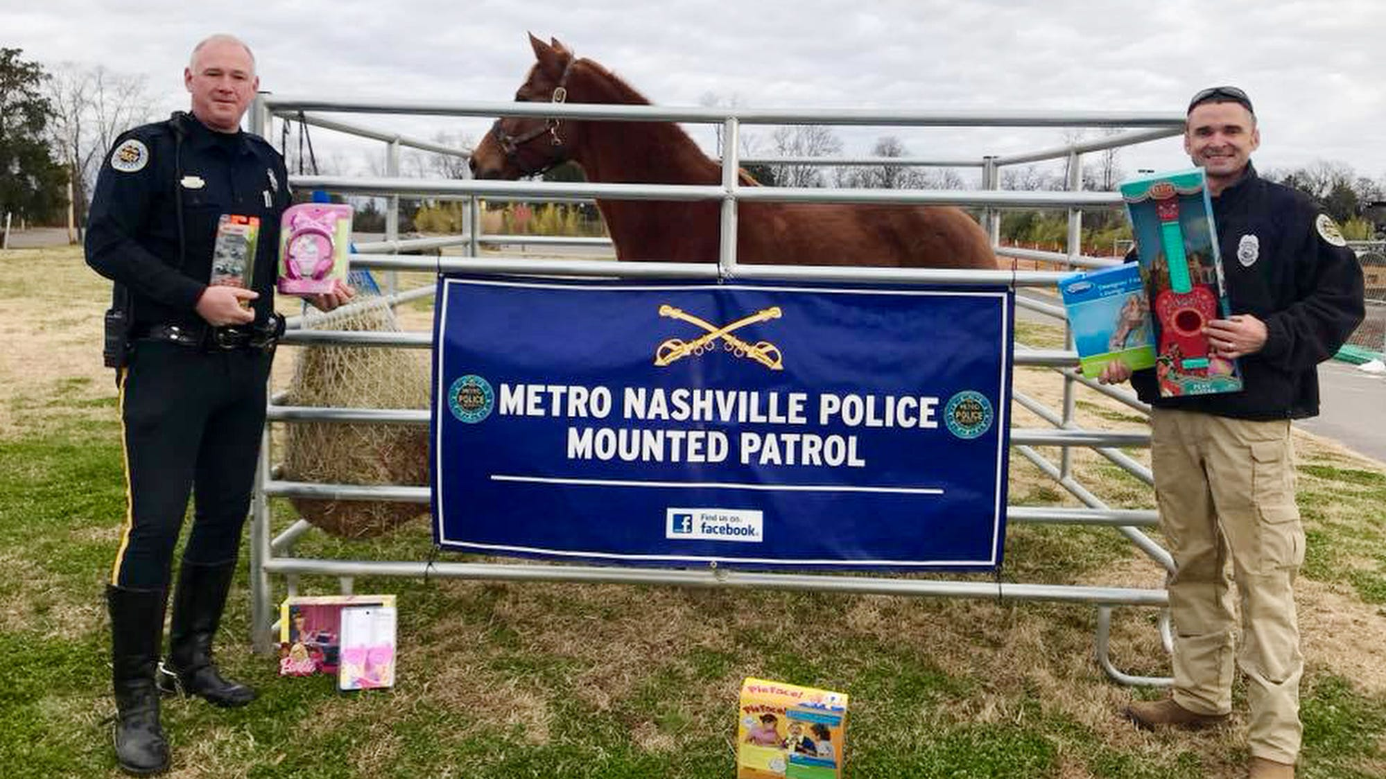 Metro Police Toy Drive at the Nashville Zoo of Grassmere in 2016.