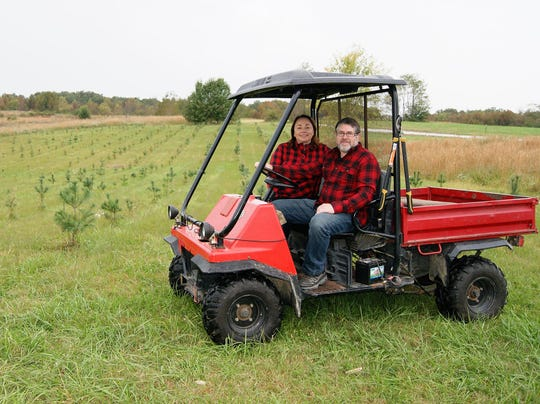 Jamie and Laura Faircloth opened Pinewood Christmas Tree Farm November 17, and will be offering holiday-themed fun November 24-25 along with assortment of pre-cut trees.
